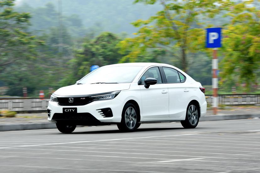 Honda City 2021 tại Việt Nam có ba phiên bản RS, L, G cùng 6 lựa chọn màu sắc