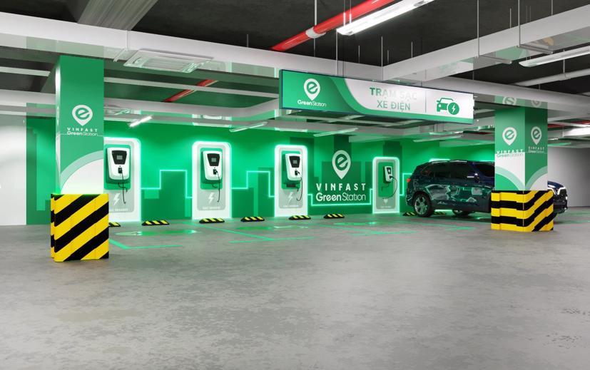 Trạm sạc xe điện VinFast