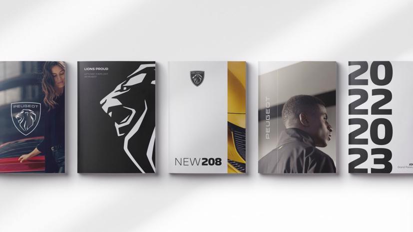 Peugeot chính thức đổi bộ nhận diện thương hiệu mới năm 2021.