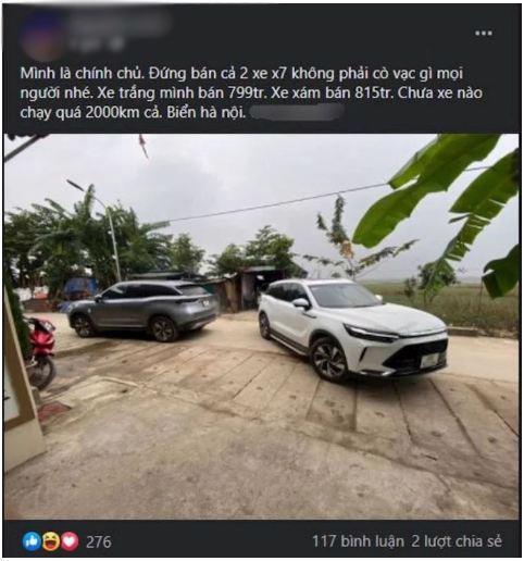 Nhiều chủ xe bán vội Beijing X7 chạy lướt, liệu có nên mua? - Ảnh 1