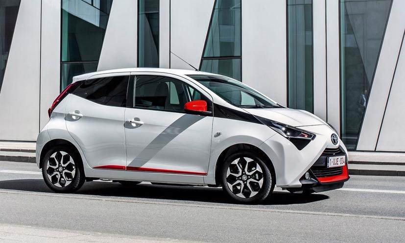 Aygo - mẫu xe cỡ A của Toyota đang bán ở châu Âu. Ảnh:Toyota.