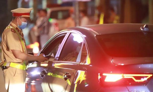Lực lượng CSGT Công an các đơn vị, địa phương đã phát hiện xử lý 5.140 trường hợp vi phạm cồn, ma túy. Nguồn ảnh: Cục Cảnh sát Giao thông.