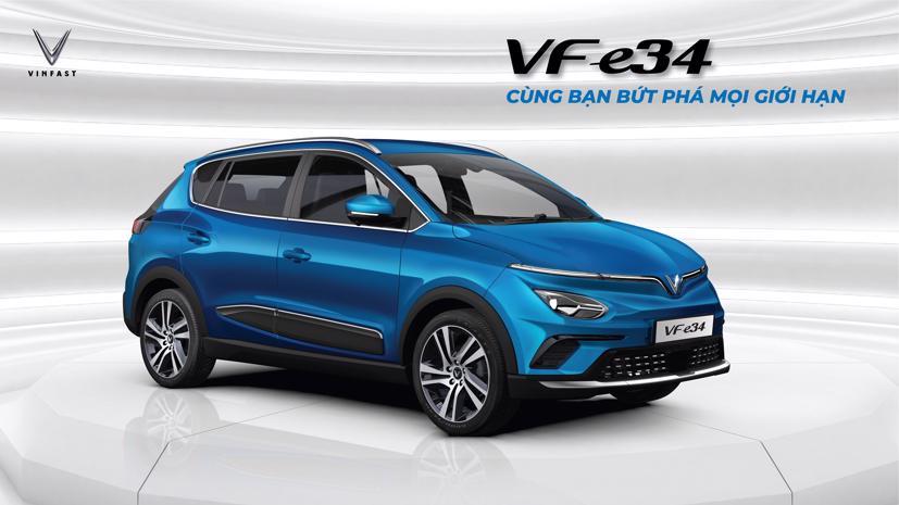 Xe ô tô điện VinFast VF e34
