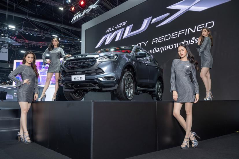 Ngắm dàn siêu mẫu cực nóng bỏng tại triển lãm Bangkok International Motor Show 2021 - Ảnh 5