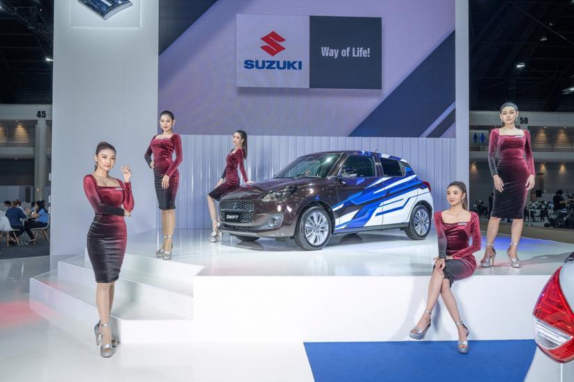 Ngắm dàn siêu mẫu cực nóng bỏng tại triển lãm Bangkok International Motor Show 2021 - Ảnh 18