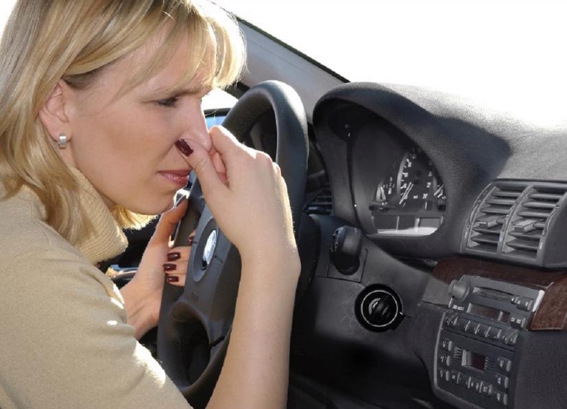 """Xe ô tô """"bốc mùi"""" là vấn đề cần phải xem xét xử lý ngay."""