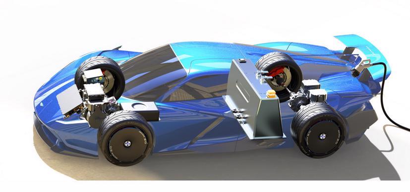 Estrema Fulminea– Siêu xe điện dành cho giới siêu giàu - Ảnh 5