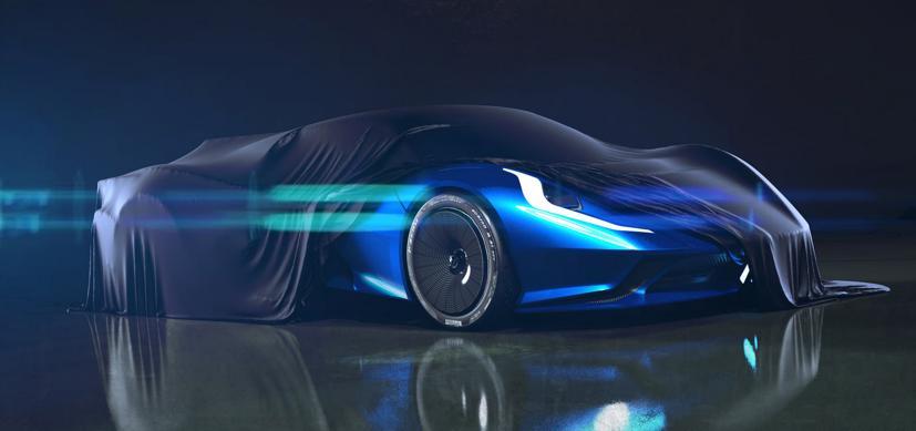 Estrema Fulminea– Siêu xe điện dành cho giới siêu giàu - Ảnh 4