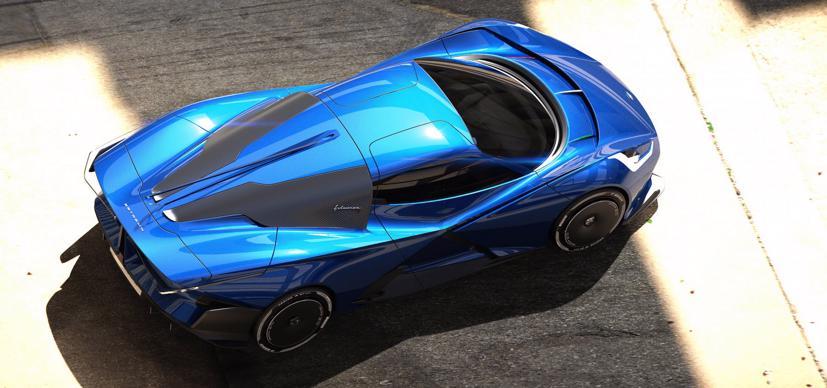 Estrema Fulminea– Siêu xe điện dành cho giới siêu giàu - Ảnh 2