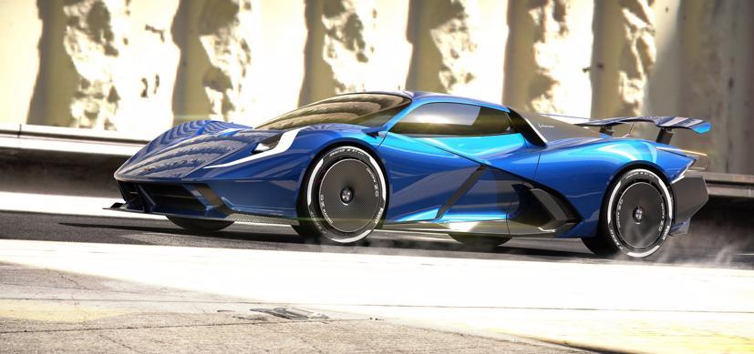 Estrema Fulminea– Siêu xe điện dành cho giới siêu giàu - Ảnh 1