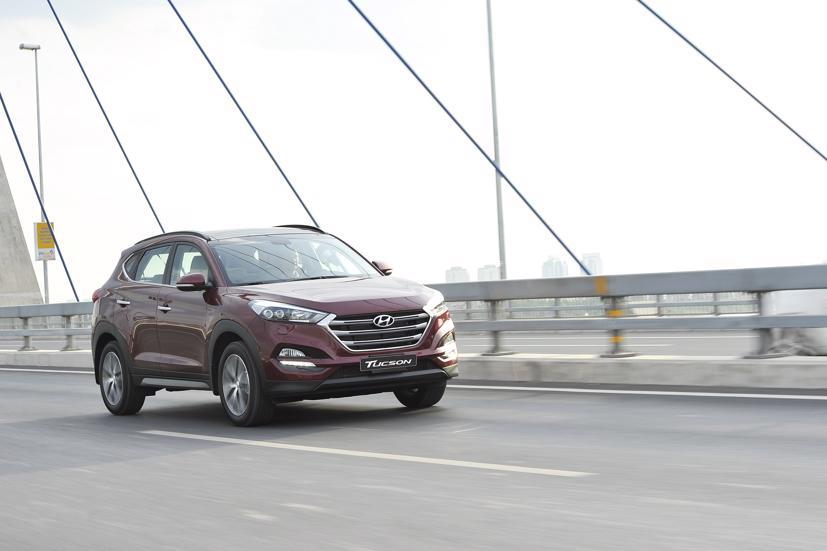 Có 23.587 xe Hyundai Tucson nằm trong diện được triệu hồi để thay thế cầu chì và cập nhật phần mềm.