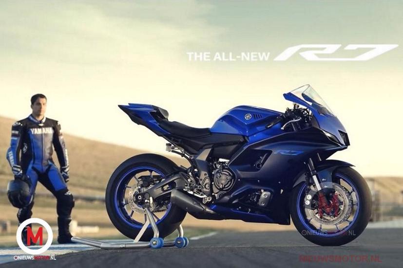 Hé lộ hình ảnh siêu phẩm Yamaha YZF-R7 - Ảnh 5