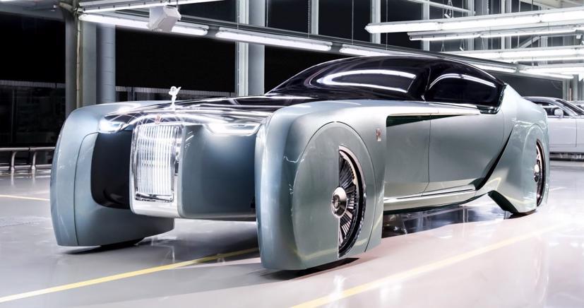 """Lộ diện mẫu xe điện siêu sang """"Silent Shadow"""" của Rolls-Royce - Ảnh 4"""