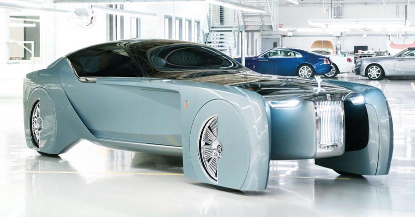 """Lộ diện mẫu xe điện siêu sang """"Silent Shadow"""" của Rolls-Royce - Ảnh 3"""