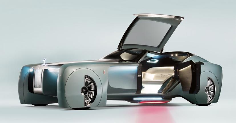 """Lộ diện mẫu xe điện siêu sang """"Silent Shadow"""" của Rolls-Royce - Ảnh 1"""