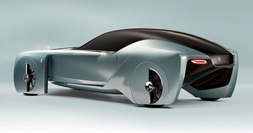 """Lộ diện mẫu xe điện siêu sang """"Silent Shadow"""" của Rolls-Royce - Ảnh 2"""