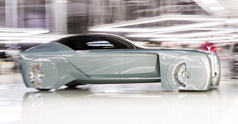 """Lộ diện mẫu xe điện siêu sang """"Silent Shadow"""" của Rolls-Royce - Ảnh 5"""