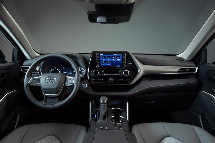 Ngắm Toyota Highlander 2022 phiên bản đặc biệt màu vàng đồng - Ảnh 10