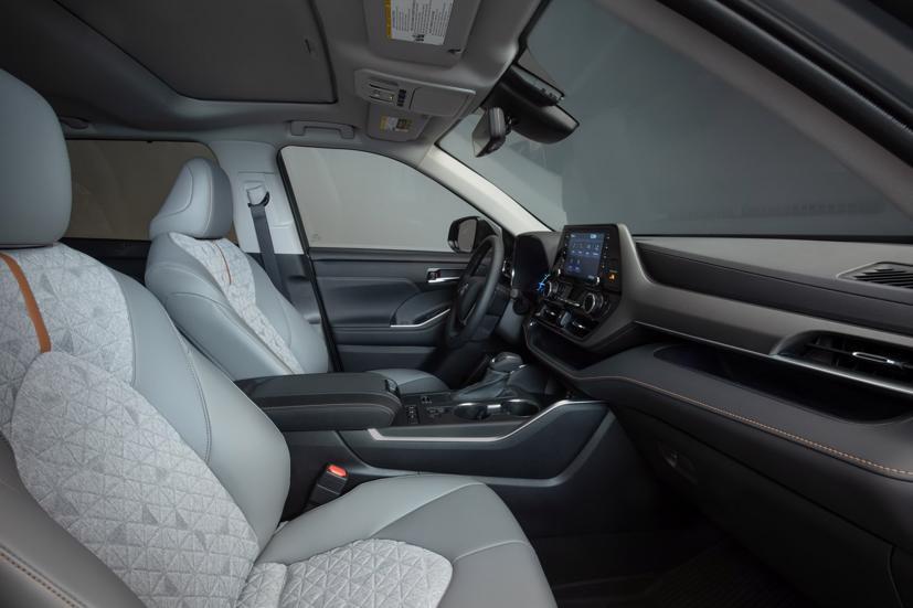 Ngắm Toyota Highlander 2022 phiên bản đặc biệt màu vàng đồng - Ảnh 5