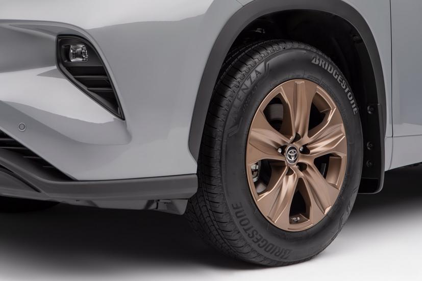 Ngắm Toyota Highlander 2022 phiên bản đặc biệt màu vàng đồng - Ảnh 8