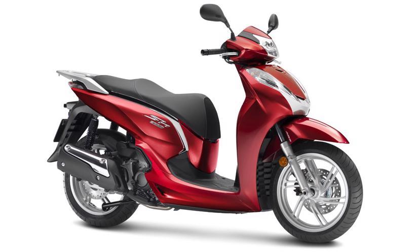 SH300i - xe ga nhập khẩu Italy. Ảnh: Honda.