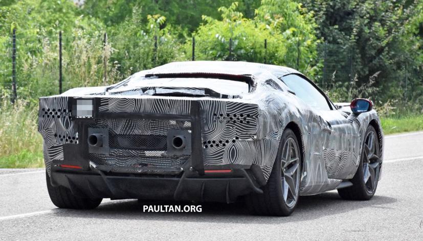 Lộ diện hình ảnh Ferrari V6 hybrid chạy thử nghiệm trên đường - Ảnh 5