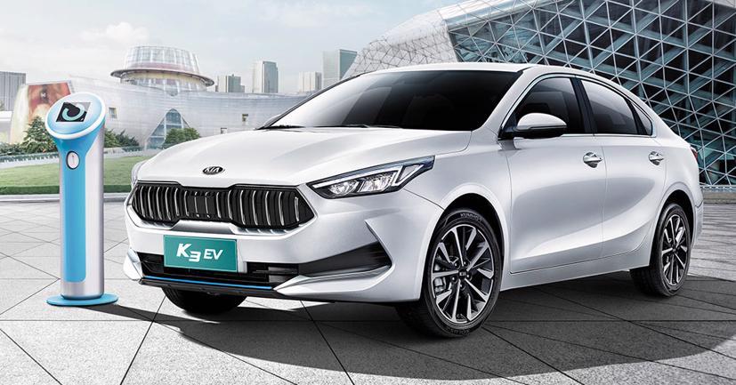 Kia K3 chạy điện ra mắt tại Trung Quốc, giá từ 28.000 USD - Ảnh 1