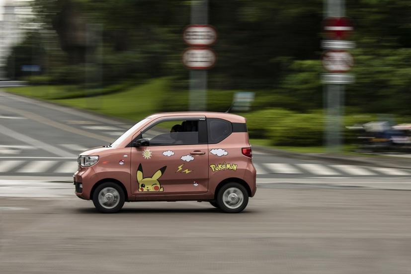 Hongguang Mini là mẫu xe điện tí hon có giá chỉ hơn 100 triệu đồng tại Trung Quốc