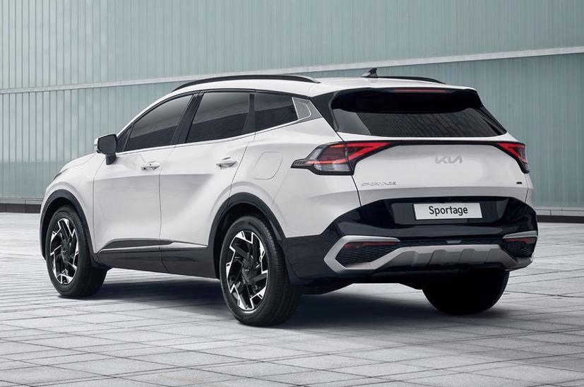 Kia Sportage thế hệ 5 lộ diện với thiết kế lấy cảm hứng từ EV6 - Ảnh 2