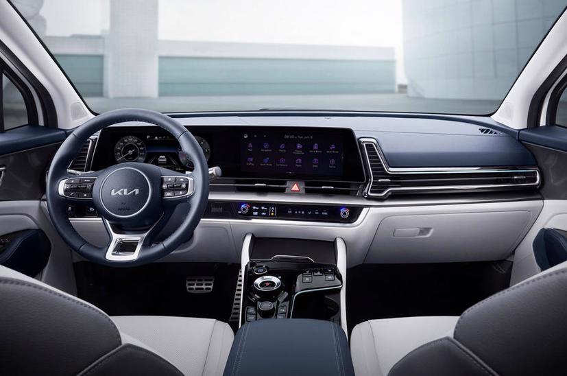Kia Sportage thế hệ 5 lộ diện với thiết kế lấy cảm hứng từ EV6 - Ảnh 5