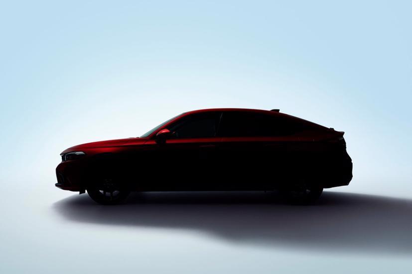 """2022 Honda Civic hatchback """"nhá hàng"""" trước ngày ra mắt - Ảnh 2"""
