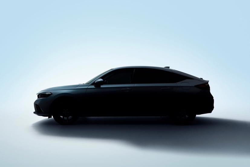 """2022 Honda Civic hatchback """"nhá hàng"""" trước ngày ra mắt - Ảnh 3"""