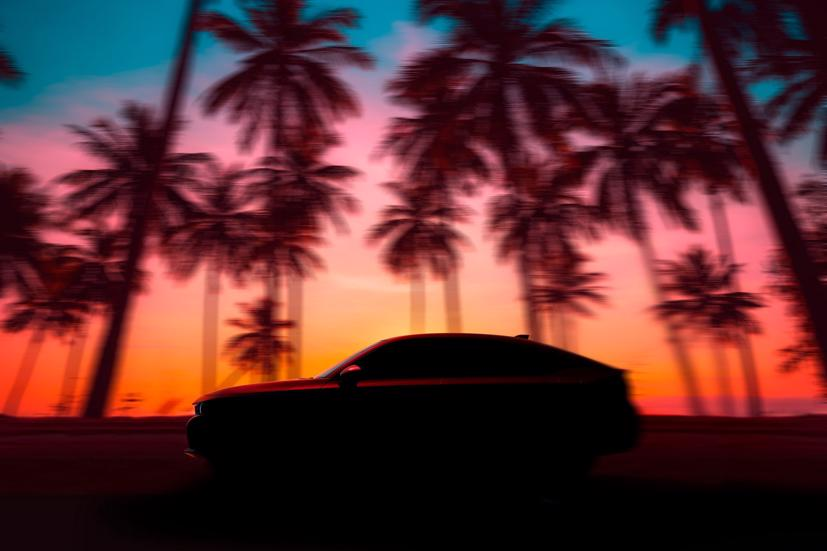 """2022 Honda Civic hatchback """"nhá hàng"""" trước ngày ra mắt - Ảnh 1"""
