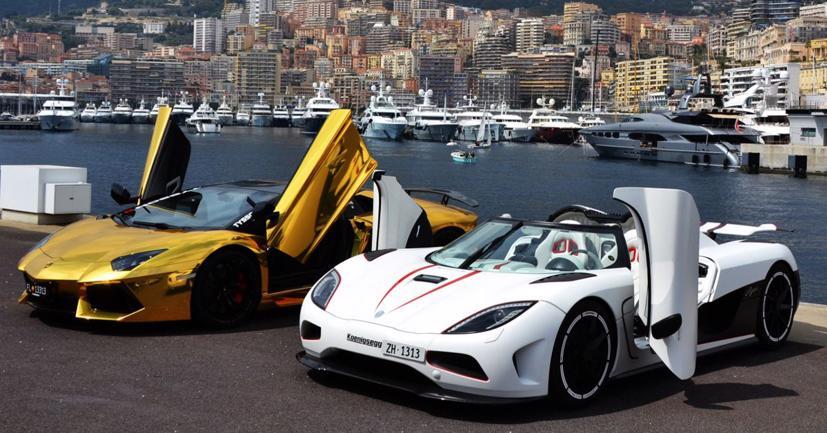 Với con số tổng sản phẩm quốc nội bình quân đầu người cao nhất, Monaco cũng là nước có nhiều siêu xe nhất.