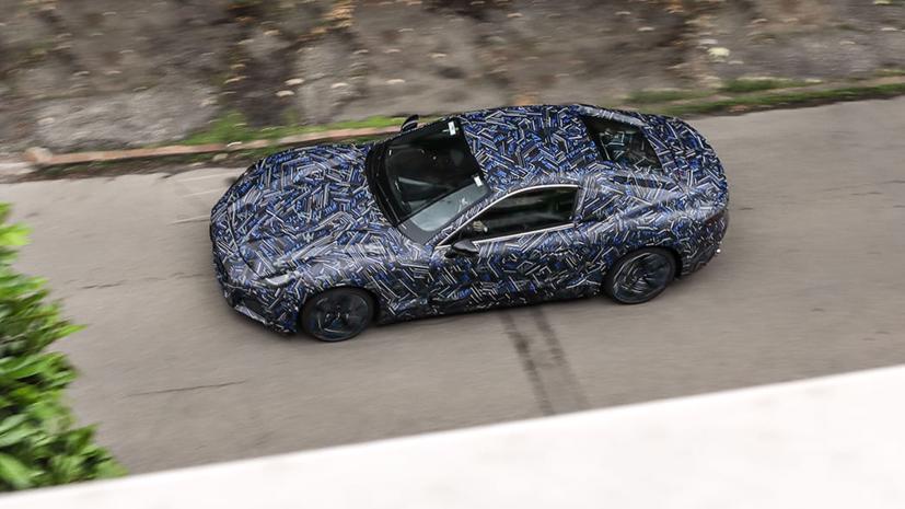2022 Maserati GranTurismo hoàn toàn chạy điện lần đầu tiên lộ mặt - Ảnh 1