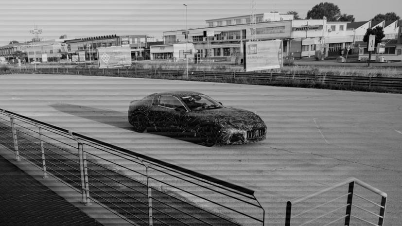 2022 Maserati GranTurismo hoàn toàn chạy điện lần đầu tiên lộ mặt - Ảnh 2