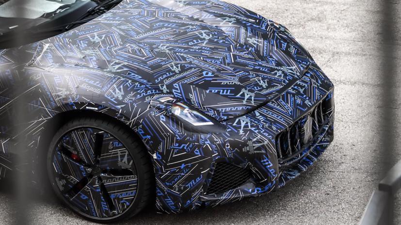2022 Maserati GranTurismo hoàn toàn chạy điện lần đầu tiên lộ mặt - Ảnh 3