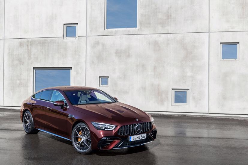 Mercedes-AMG GT 4 cửa Coupe 2022 Facelift: Nâng cấp tinh tế, tăng tính thực dụng - Ảnh 7