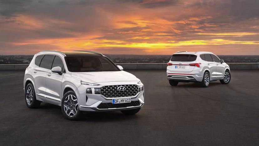 Hyundai Santa Fe mới sẽ có thêm biến thể XRT - Ảnh 3