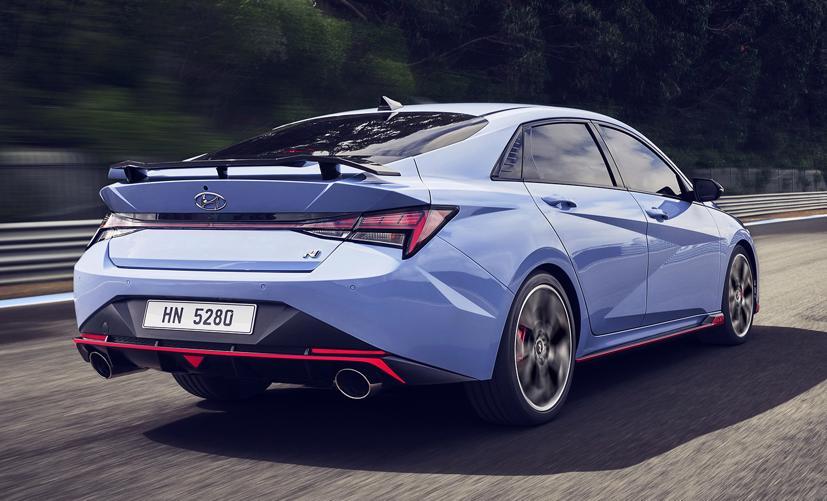 Chi tiết Hyundai Elantra N 2022 vừa chính thức ra mắt - Ảnh 3