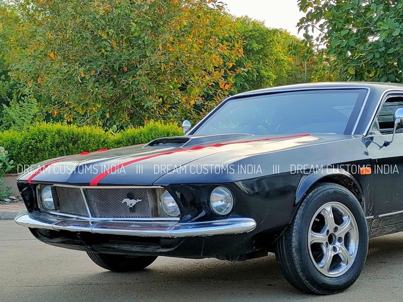 """Hyundai Accent """"biến hoá"""" thành Ford Mustang 1969 - Ảnh 3"""