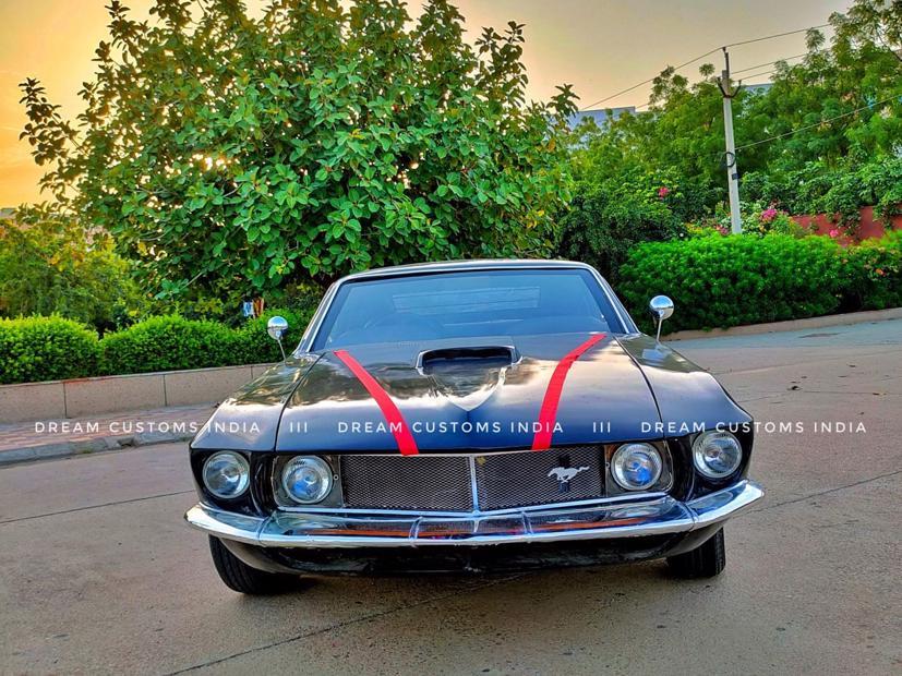 """Hyundai Accent """"biến hoá"""" thành Ford Mustang 1969 - Ảnh 4"""