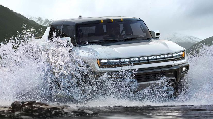 GMC sắp tung ra mẫu bán tải điện thứ hai bên cạnh Hummer EV - Ảnh 1