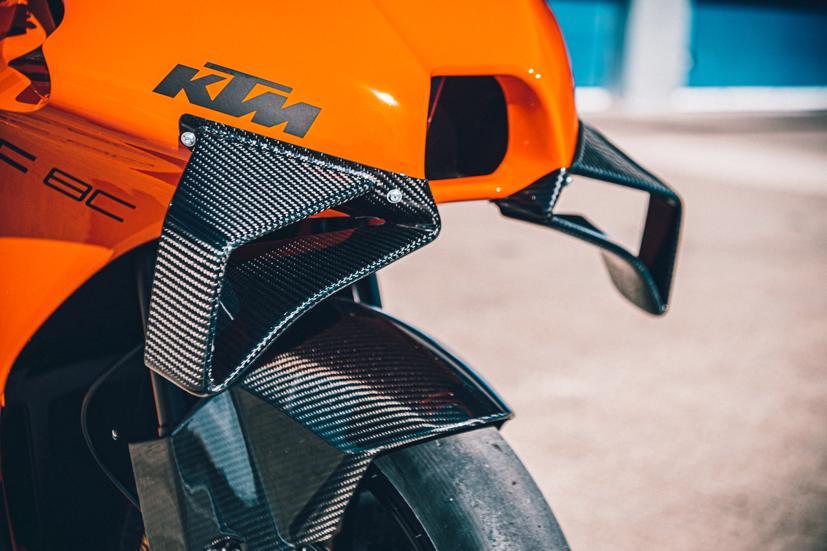 2021 KTM RC 8C bản giới hạn ra mắt: Động cơ kép LC8c, 128 mã lực - Ảnh 7