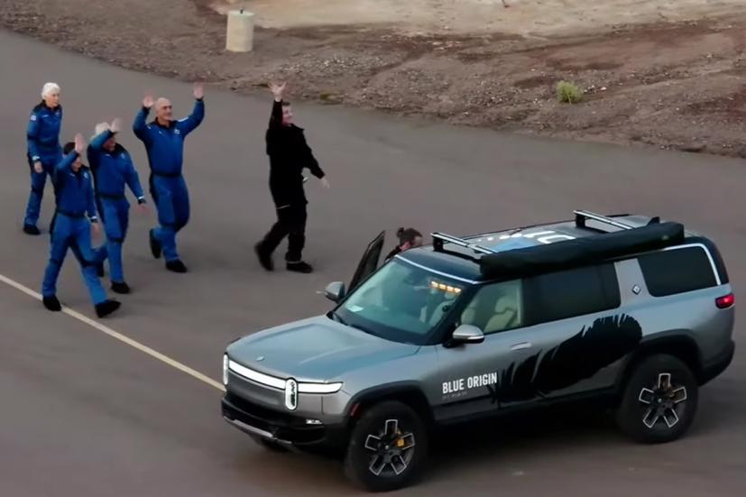 Những điều chưa biết về chiếc xe chở tỷ phú Jeff Bezos vào phi thuyền không gian - Ảnh 1