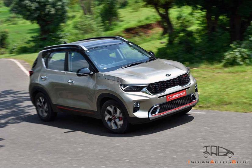 Kia Sonet tại Ấn Độ là phiên bản 5 chỗ.