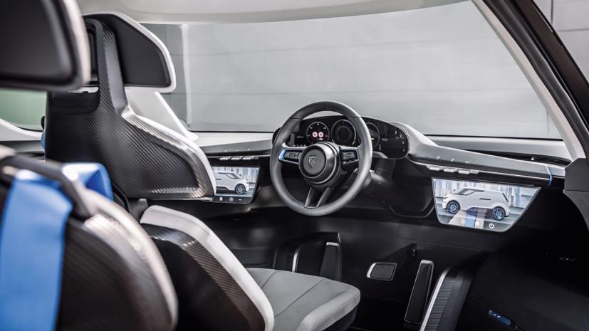 Porsche tung thiết kế nội thất mẫu xe van điện Vision Renndienst tương lai - Ảnh 1