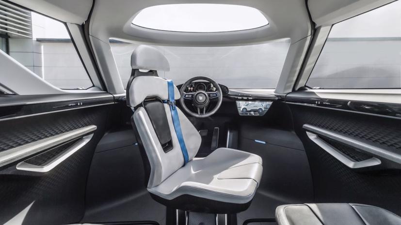 Porsche tung thiết kế nội thất mẫu xe van điện Vision Renndienst tương lai - Ảnh 5