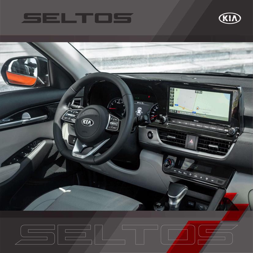 Kia Seltos 1.6 Premium nâng cấp trang bị bộ lọc không khí mớihỗ trợ khử khuẩn, thanh lọc không khí