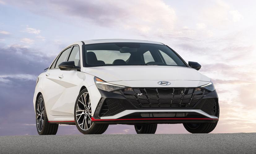 Hyundai Elantra N 2022 - sedan hiệu suất cao - Ảnh 1